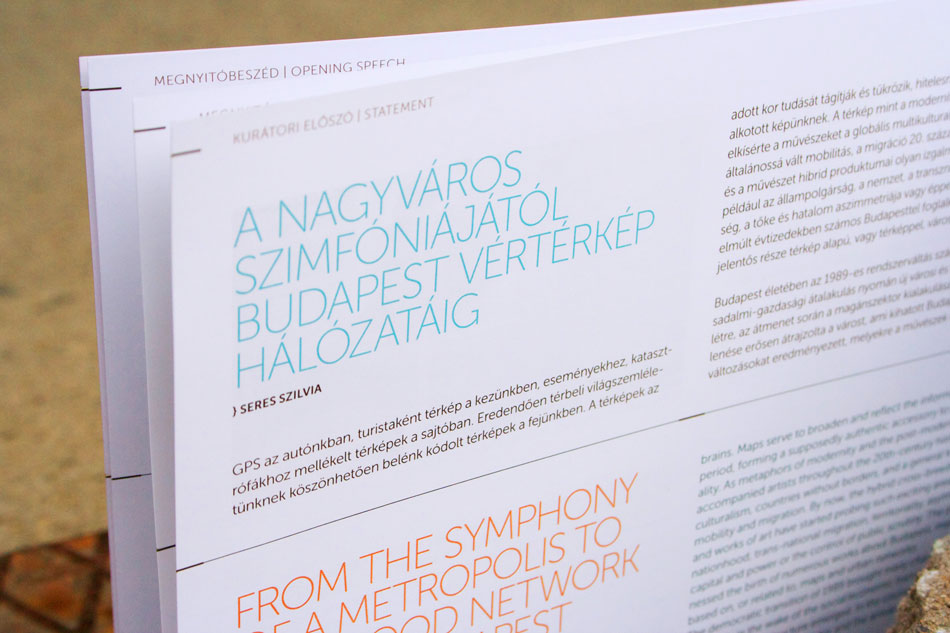 Subjective BUDAPEST map / exhibition catalogue